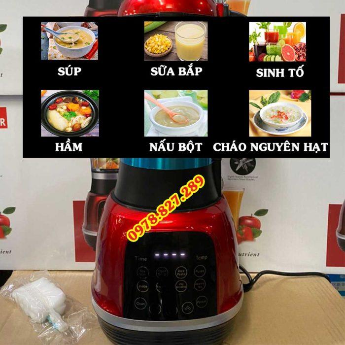 máy làm sữa hạt, máy xay sữa hạt, máy xay, máy xay đa năng, máy xay sinh tố, máy nấu súp, máy nấu